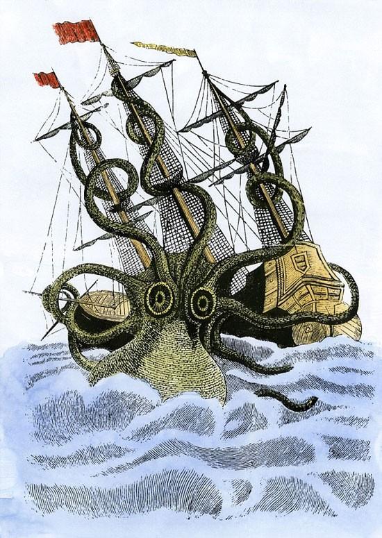 Quái vật biển thực sự tồn tại ảnh 1