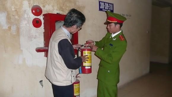 Chú trọng phòng cháy các chung cư cao tầng ảnh 1