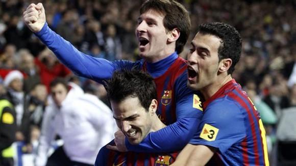 Cuộc chơi của Barca ảnh 1