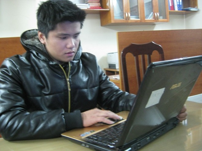 Một đối tượng sử dụng mạng internet hoạt động vi phạm pháp luật (ảnh minh họa)