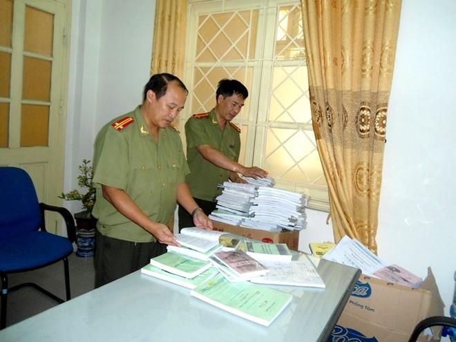 Phát hiện hàng tấn sách lậu ở quận Thanh Xuân ảnh 2