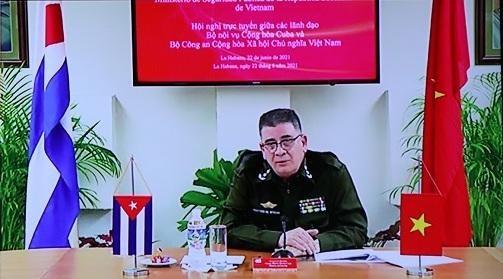 Đoàn kết, gắn bó chặt chẽ giữa Bộ Công an Việt Nam và Bộ Nội vụ Cuba ảnh 2