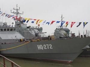 Hải quân tiếp nhận tàu chiến hiện đại nhất hiện nay ảnh 1