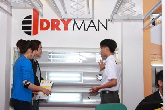 Giàn phơi thông minh Dryman ra mắt thị trường ảnh 1