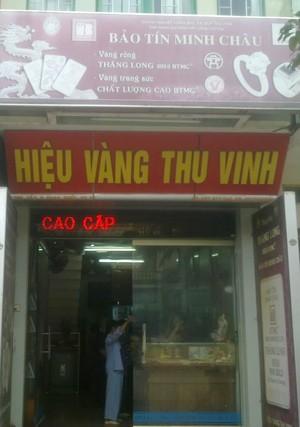 Tuyên Quang: Lại cướp tiệm vàng táo tợn giữa buổi trưa ảnh 1
