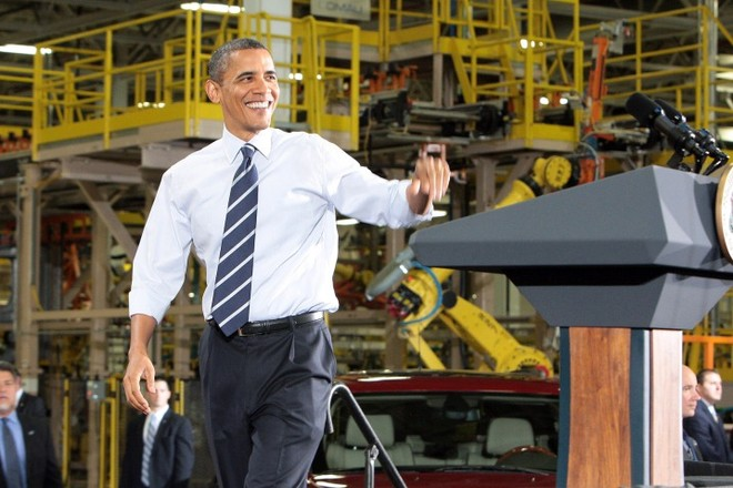 Tổng thống Obama gợi mở chính sách đặc biệt cho công nghiệp xe hơi ảnh 1