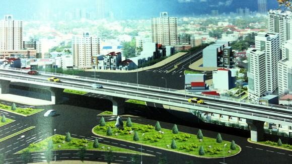 Nút giao thông Ô Chợ Dừa: Trụ cầu vượt nằm ngoài Đàn Xã Tắc ảnh 2