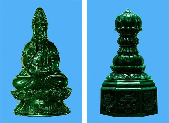 Cung nghinh Phật ngọc và Ấn ngọc về Bảo tháp Đại bi ảnh 5