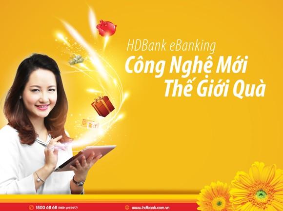 """HDBank eBanking """"Công nghệ mới – Thế giới quà"""" ảnh 2"""