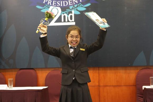 Ivy President 2nd gay cấn như tranh cử Tổng thống ảnh 2