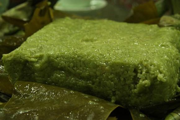 Về xứ Thanh thưởng thức bánh chưng xanh ảnh 5