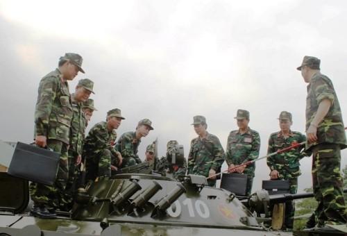 Tập huấn nâng cao cho cán bộ lực lượng Tăng - Thiết giáp toàn quân ảnh 3