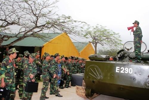 Tập huấn nâng cao cho cán bộ lực lượng Tăng - Thiết giáp toàn quân ảnh 1