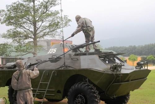 Tập huấn nâng cao cho cán bộ lực lượng Tăng - Thiết giáp toàn quân ảnh 6