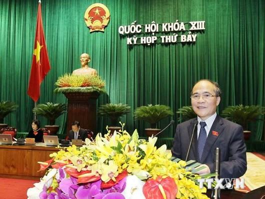 Chủ tịch QH Nguyễn Sinh Hùng: Tình hình biển Đông diễn biến hết sức phức tạp, khó lường ảnh 2