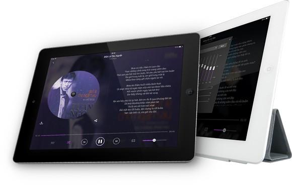 Zing Mp3 ra mắt phiên bản dành cho máy tính bảng ảnh 3