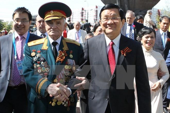 Lễ duyệt binh hùng tráng tại Quảng trường Đỏ - Moscow ảnh 1