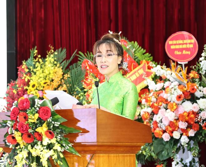 Bài phát biểu truyền cảm hứng của nữ tỉ phú tại Đại hội thi đua yêu nước ngành Ngân hàng ảnh 1
