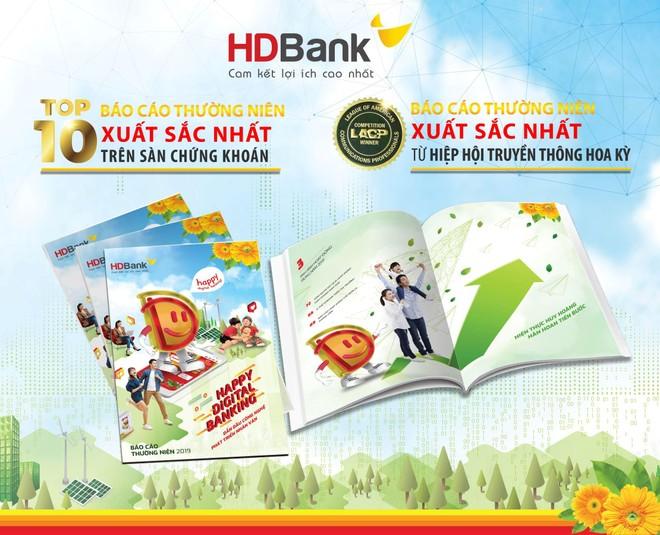 """Thông điệp """"Happy Digital Bank"""" đưa BCTN HDBank giành nhiều giải thưởng lớn ảnh 2"""