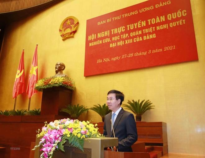 Ban Bí thư tổ chức Hội nghị quán triệt Nghị quyết Đại hội XIII của Đảng ảnh 1