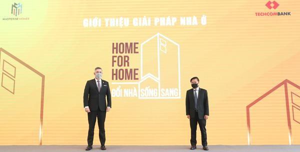 Công bố giải pháp nhà ở Home for Home - Nhà đổi nhà đầu tiên tại Việt Nam ảnh 1