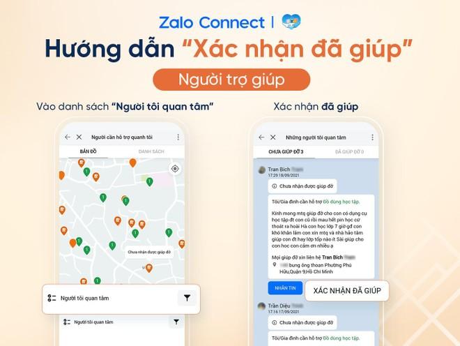 Hỗ trợ đồ dùng học tập cho học sinh qua Zalo Connect ảnh 3