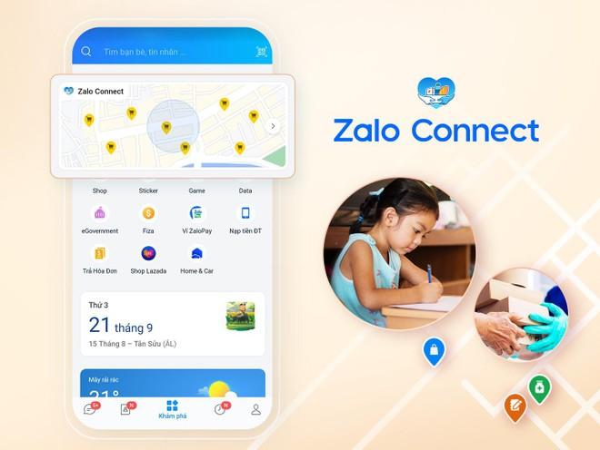 Hỗ trợ đồ dùng học tập cho học sinh qua Zalo Connect ảnh 5