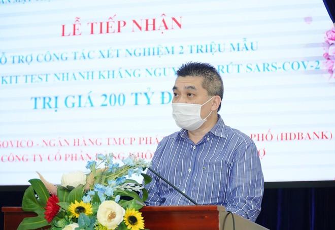 Tập đoàn Sovico hỗ trợ TP.Hồ Chí Minh xét nghiệm 2 triệu mẫu và tặng 1 triệu kit xét nghiệm trị giá 200 tỷ đồng ảnh 3