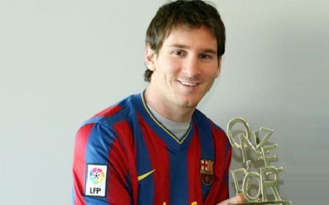Messi giành hat-trick Onze Vàng