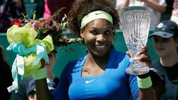 Serena có danh hiệu đầu tiên trong năm 2012