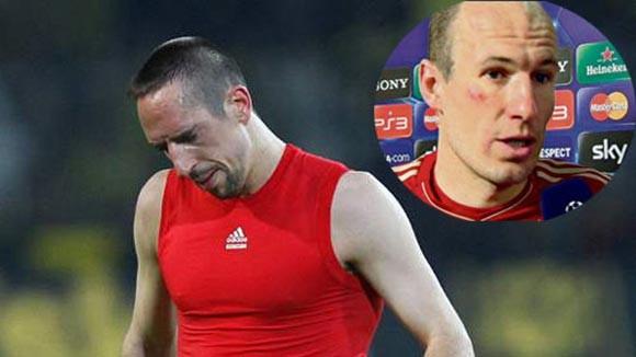 Ribery dính án phạt vì choảng đồng đội
