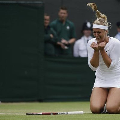 Sharapova bị loại ảnh 1