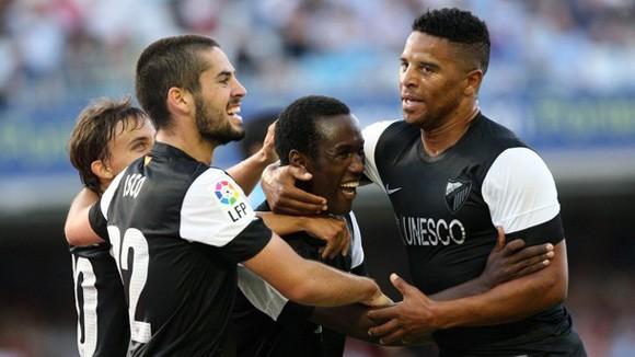 Vòng 1 La Liga: Bất chấp khủng hoảng, Malaga khởi đầu thuận lợi
