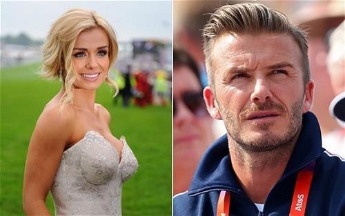 Phản bội vợ con, David Beckham lén lút cặp nữ ca sĩ opera? ảnh 1