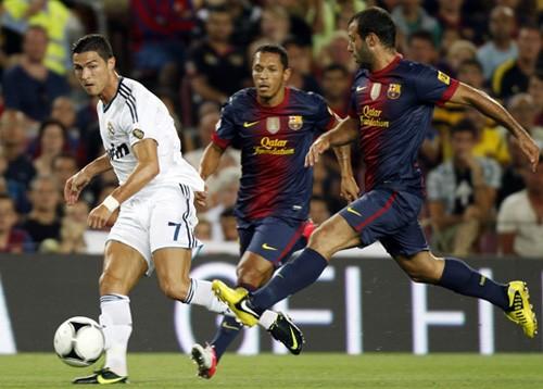 Trung vệ Barca dâng Siêu cúp Tây Ban Nha cho Real