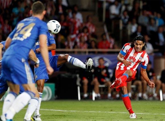 Falcao giúp Atletico đoạt Siêu cúp châu Âu ảnh 1
