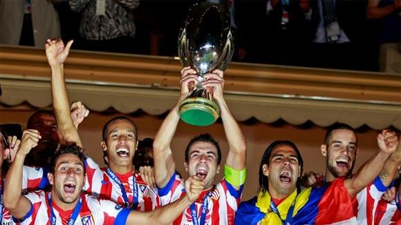 Falcao giúp Atletico đoạt Siêu cúp châu Âu