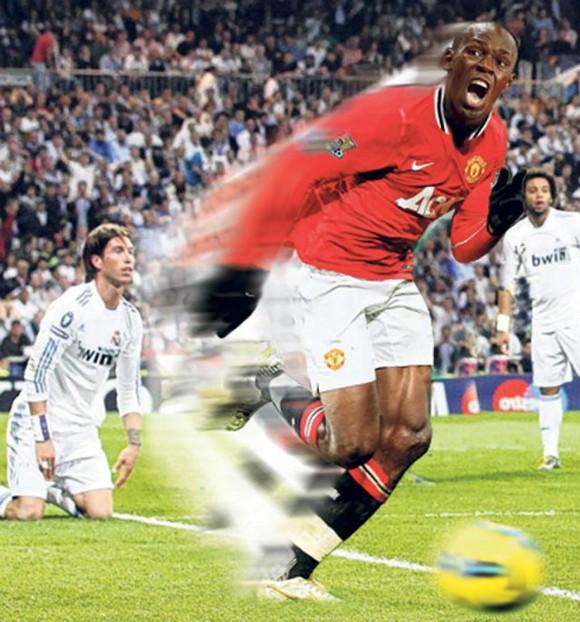 Usain Bolt nhiều khả năng sẽ được ra sân trong màu áo MU ở một trận đấu từ thiện