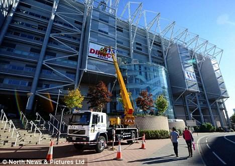 Newcastle lấy lại cái tên sân cũ St James' Park ảnh 1