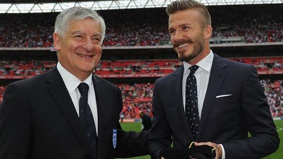 David Beckham trở thành Chủ tịch FA? ảnh 1