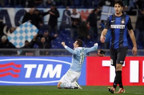 Inter Milan trắng tay rời sân Olimpico ảnh 1