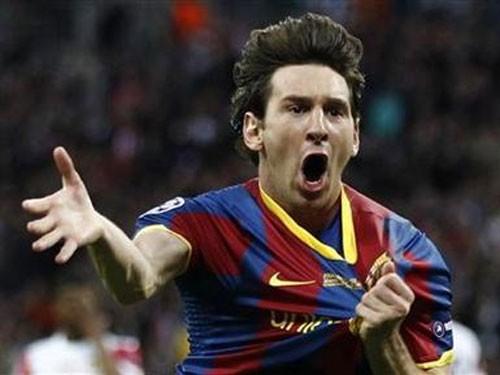 Messi nhận giải 'Vua bóng đá' châu Âu ảnh 1