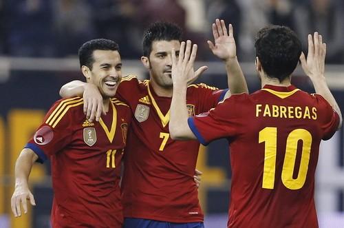 Tây Ban Nha thể hiện đẳng cấp ảnh 1