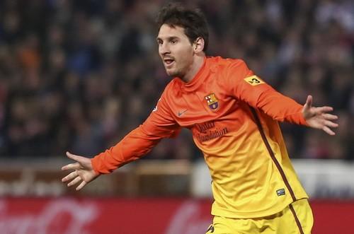 Messi vượt qua mốc 300 bàn cho Barcelona ảnh 1