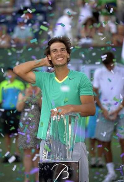 """Nadal trở thành """"Vua Masters 1.000"""" ảnh 1"""