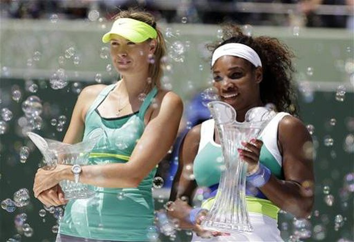 Miami Masters: Sharapova ôm hận trước Serena ảnh 1