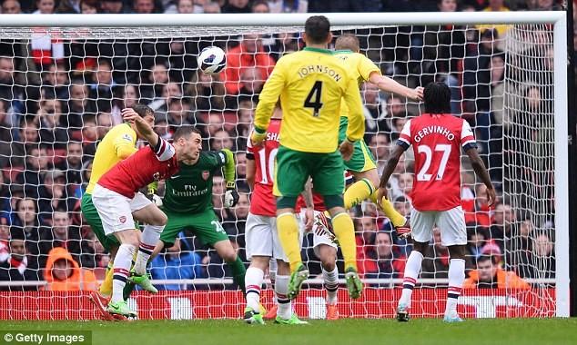 """5 phút cuối """"điên rồ"""" của Arsenal ảnh 1"""
