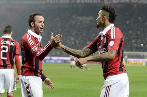 Milan ngược dòng thành công trong trận cầu hấp dẫn ảnh 1