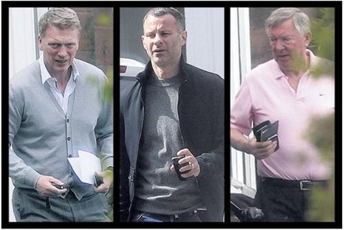 Moyes bí mật gặp Ferguson và Giggs để thảo luận về vụ Rooney ảnh 1