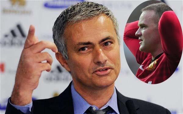 """Jose Mourinho công khai """"ve vãn"""" Wayne Rooney ảnh 1"""